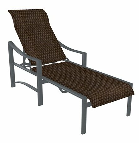 Kenzo Reclining Chaise Lounge by Tropitone