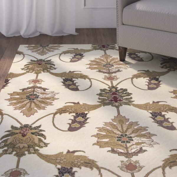 Greenfield Ivory Area Rug by Charlton Home
