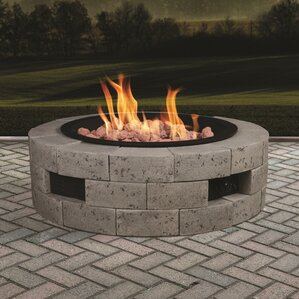 Propane Outdoor Fireplaces Amp Fire Pits You Ll Love Wayfair