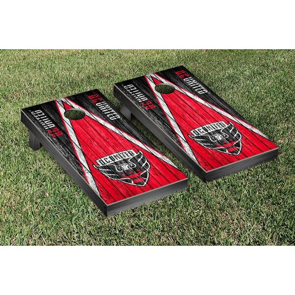 MLS Triangle Weathered Version Cornhole Game Set b