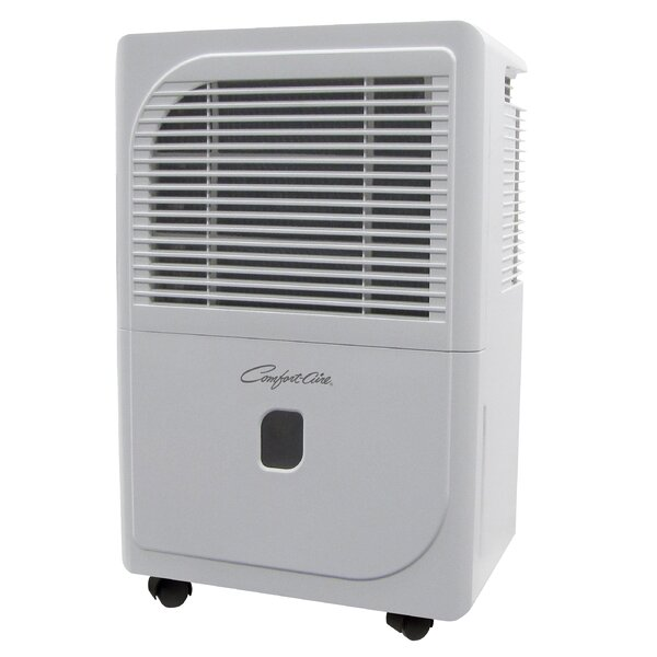 Comfort-Aire 75 Pint Dehumidifier with Casters by Heat Controller