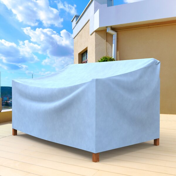 All-Seasons Small Outdoor Sofa Cover for Loveseat/Bench by Budge Industries