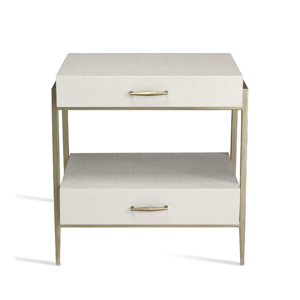 Allegra 2 Drawer Nightstand by Interlude