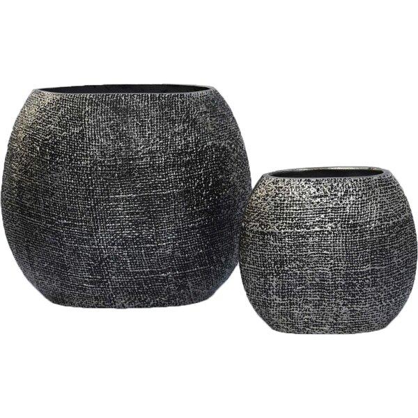 Pamella 2 Piece Table Vase Set by Bloomsbury Market