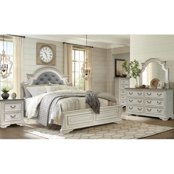 Dimitri Panel 4 Piece Bedroom Set by Charlton Home