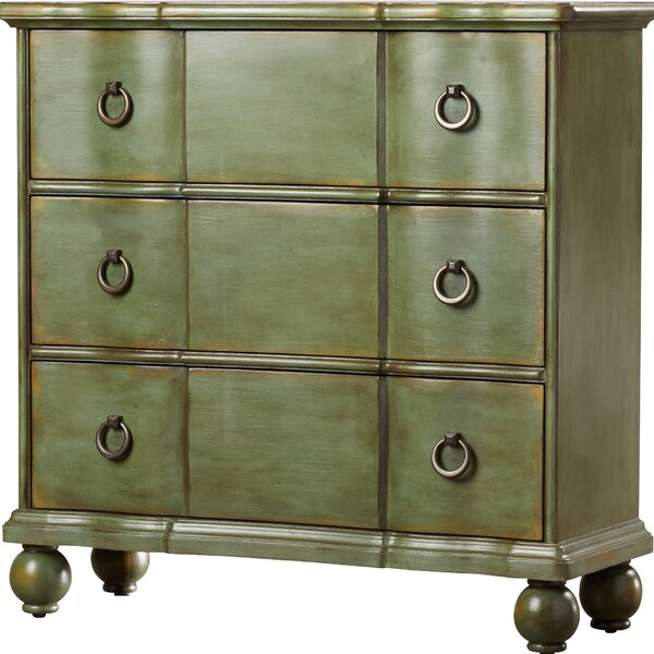 Bartouille 3 Drawer Square Accent Chest by Laurel Foundry Modern Farmhouse