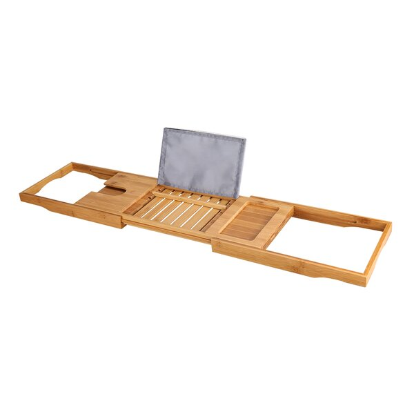 Seadrift Bathtub Caddy Tray with Extending Sides by Winston Porter