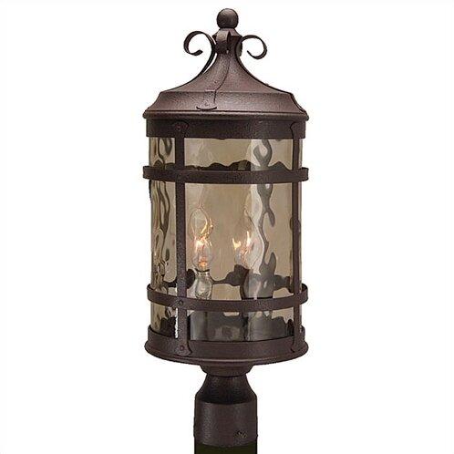 Oakhill Outdoor 2-Light Post Light by Charlton Home