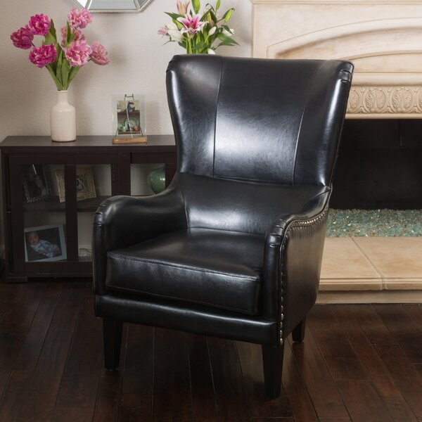 Full Sail Wingback Chair by Red Barrel Studio