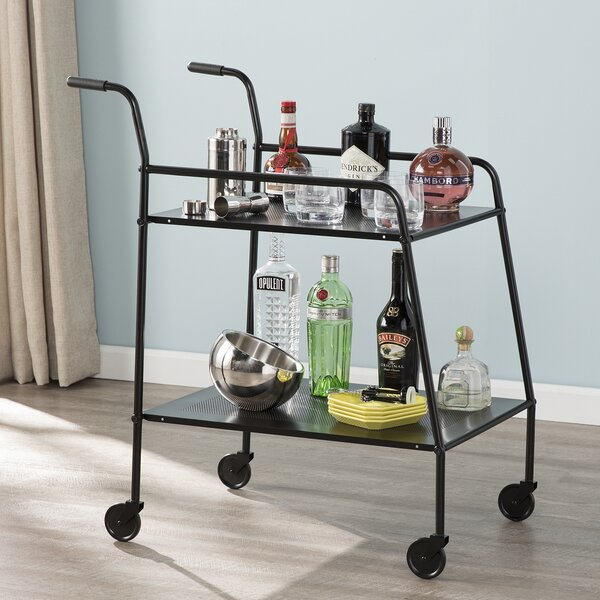 Albritton Bar Cart by Williston Forge Williston Forge