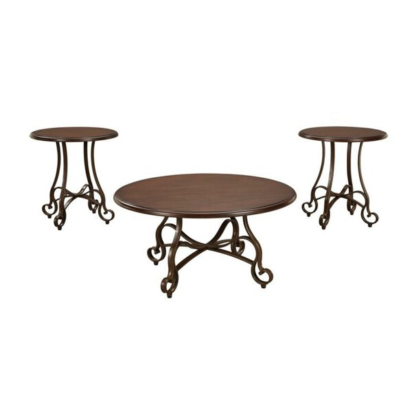 Olen 3 Piece Coffee Table Set By Everly Quinn