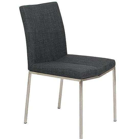 Carlwirtz Modern Upholstered Dining Chair (Set of 2) by Wrought Studio