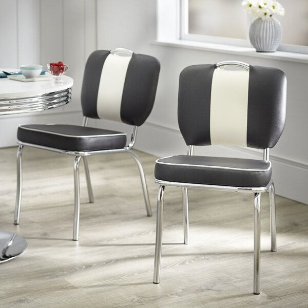 Sherly Retro Dining Chair (Set of 2) by Latitude Run