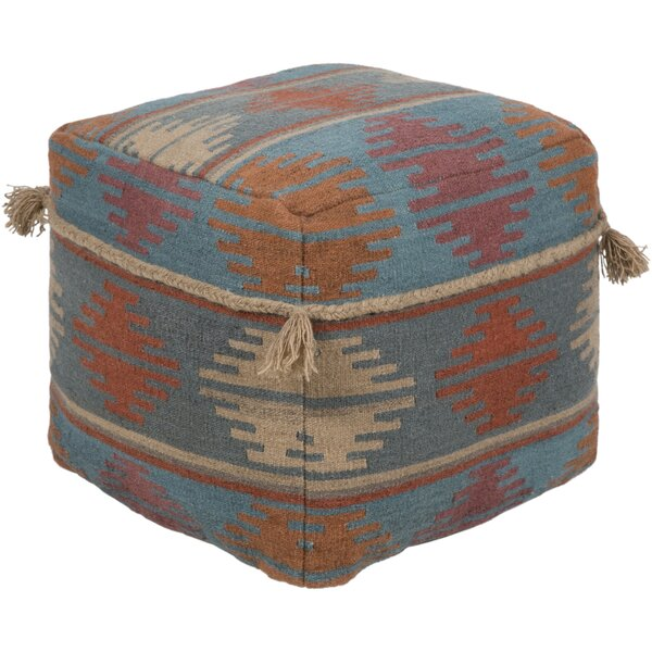 Sariah Bohemian Pouf by Bungalow Rose