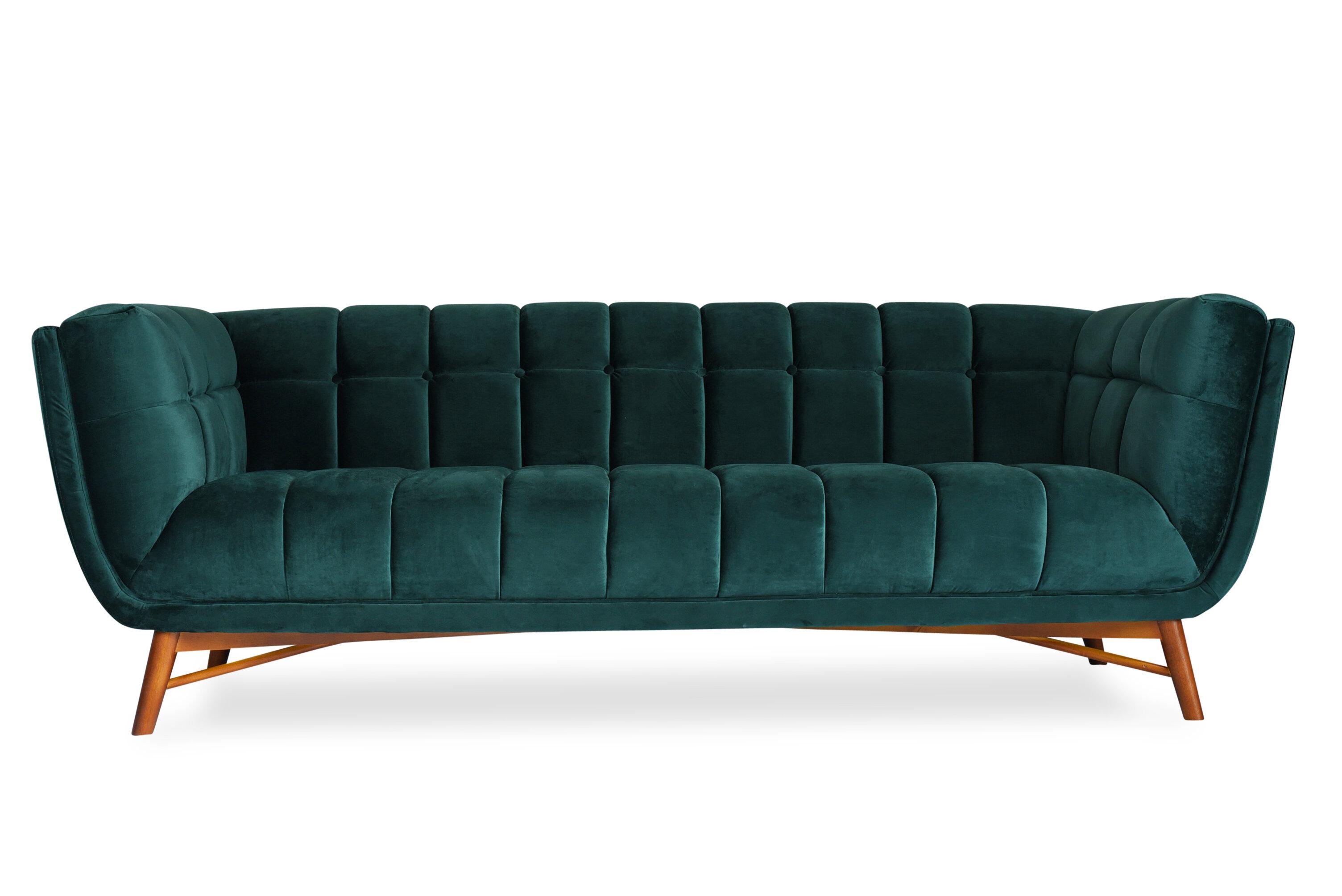 Everly Quinn Clarisse Mid Century Modern Chesterfield Sofa Wayfair