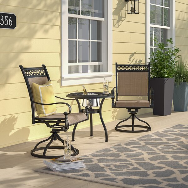 Curacao 3 Piece Rocker Conversation Set by Sol 72 Outdoor