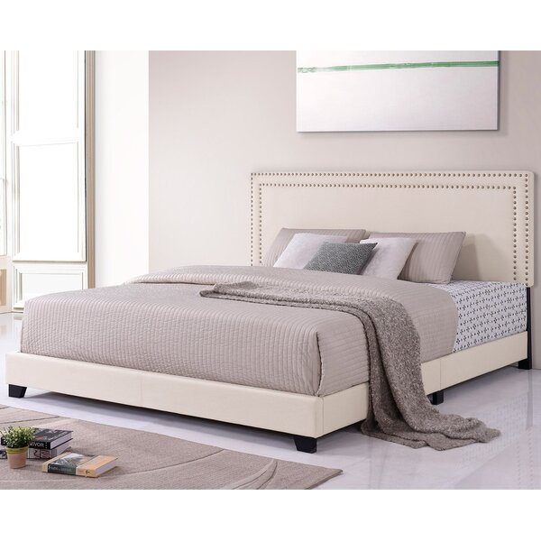 Tenino King Upholstered Platform Bed By Red Barrel Studio by Red Barrel Studio Cheap