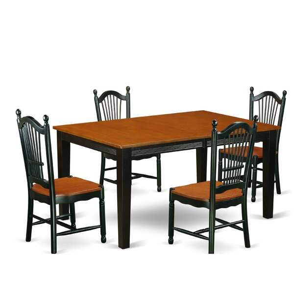 Pilger 5 Piece Dining Set by August Grove August Grove