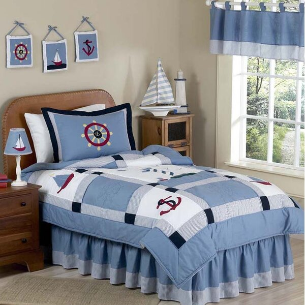Come Sail Away 3 Piece Comforter Set by Sweet Jojo Designs