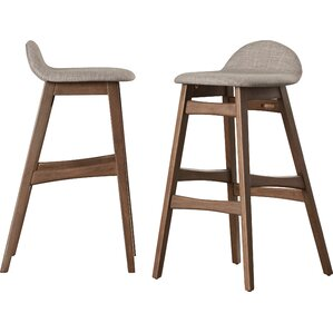 Duro 30  Bar Stool (Set ...  sc 1 st  AllModern & Modern Wood Bar Stools + Counter Stools | AllModern islam-shia.org
