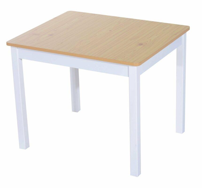 homcom 4 tlg kinder tisch und stuhl set bewertungen. Black Bedroom Furniture Sets. Home Design Ideas