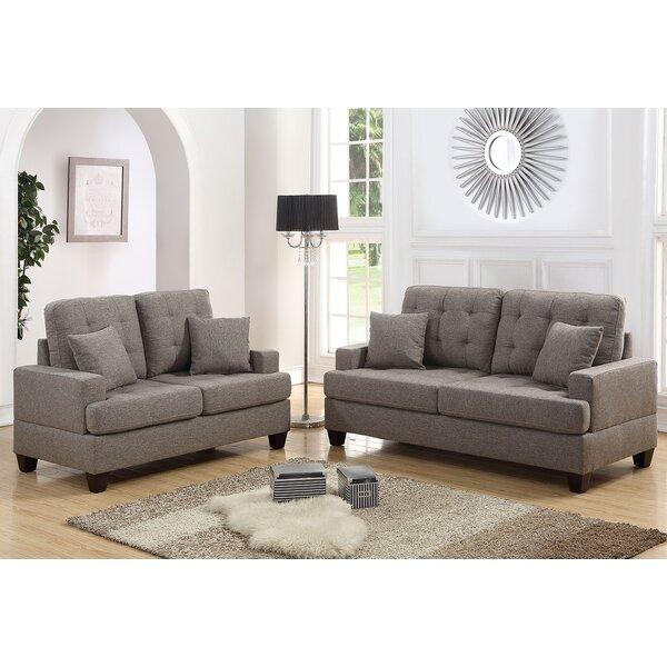 Price Check Saphira 2 Piece Living Room Set by Winston Porter