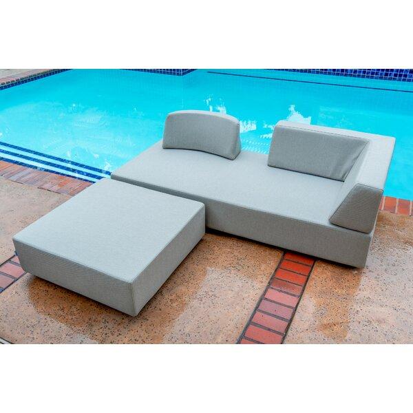 Merkley Patio 4 Piece Sofa Seating Group with Cushions by Latitude Run