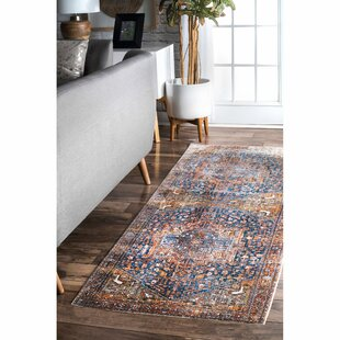 Artemas Power Loomed Rust Area Rug by World Menagerie