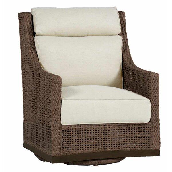 Peninsula Swivel Glider Chair with Cushion