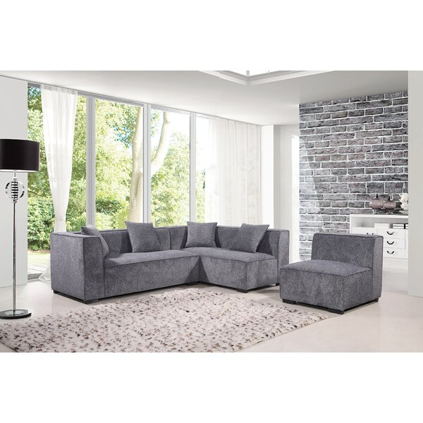 Dorris Modular Sectional by Brayden Studio
