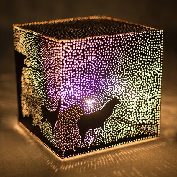 Christmas Eve 8 Table Lamp by KAMSAH