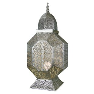 Reviews Platt 1-Light LED Hanging Lantern By Bungalow Rose