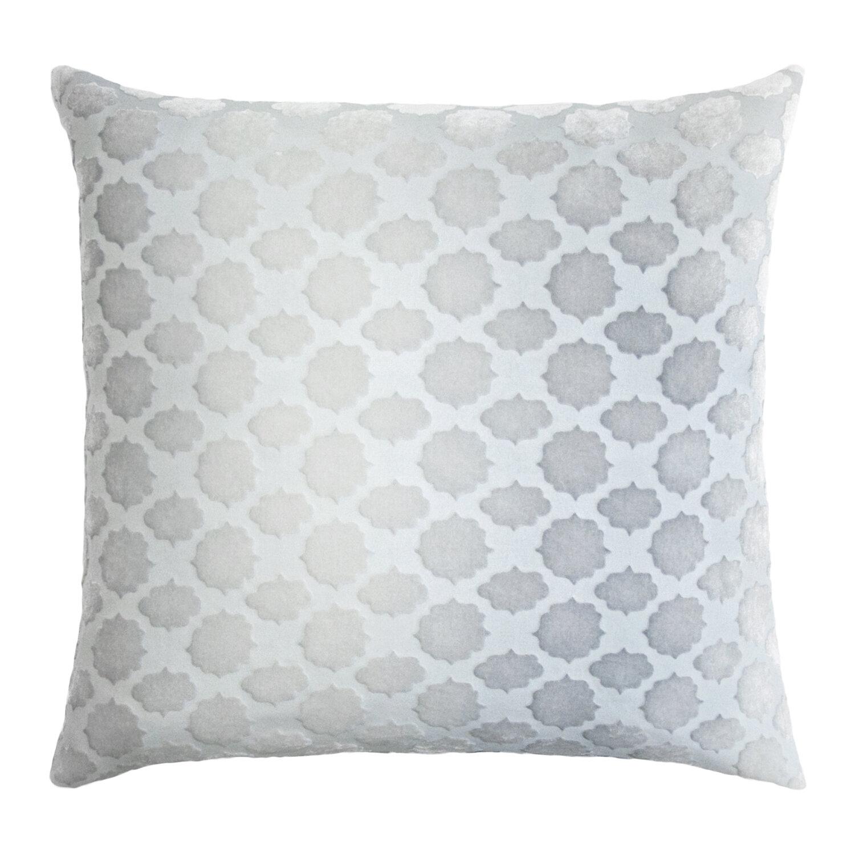 Kevin O Brien Studio Mod Fretwork Velvet Geometric Throw Pillow Perigold