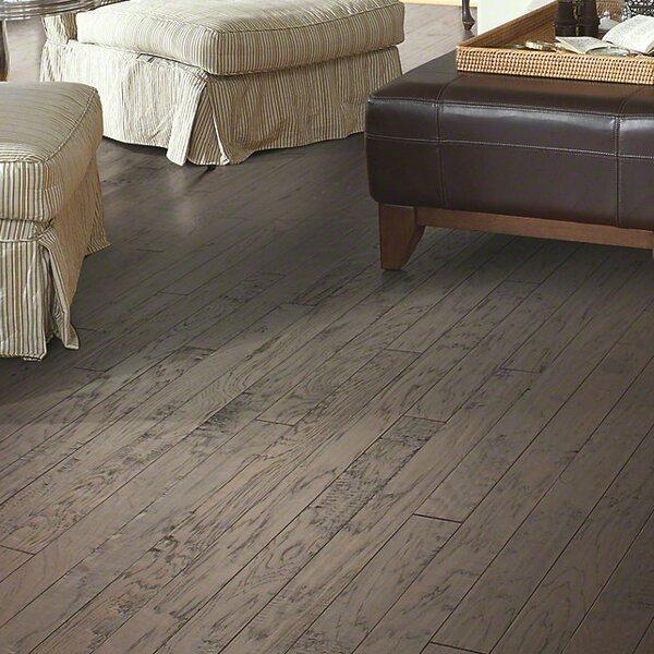 3-1/4 Engineered Hickory Hardwood Flooring in Charcoal by Welles Hardwood