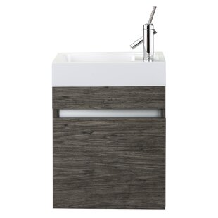 modern 18 inch bathroom vanities | allmodern 18 Bathroom Vanity