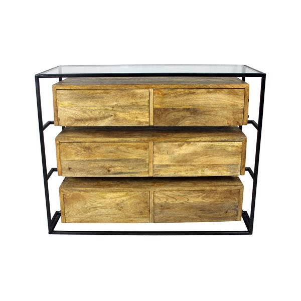 Sonia 6 Drawer Double Dresser by Union Rustic