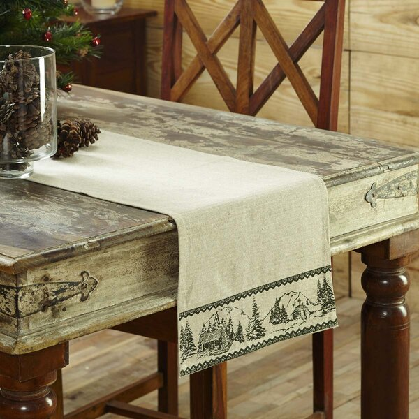 Timberland Christmas Table Runner by Loon Peak