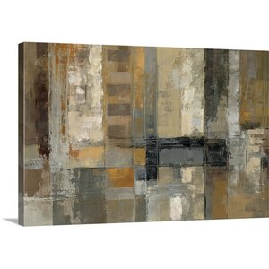 'One Way Street' by Silvia Vassileva Painting Print on Canvas by Great Big Canvas