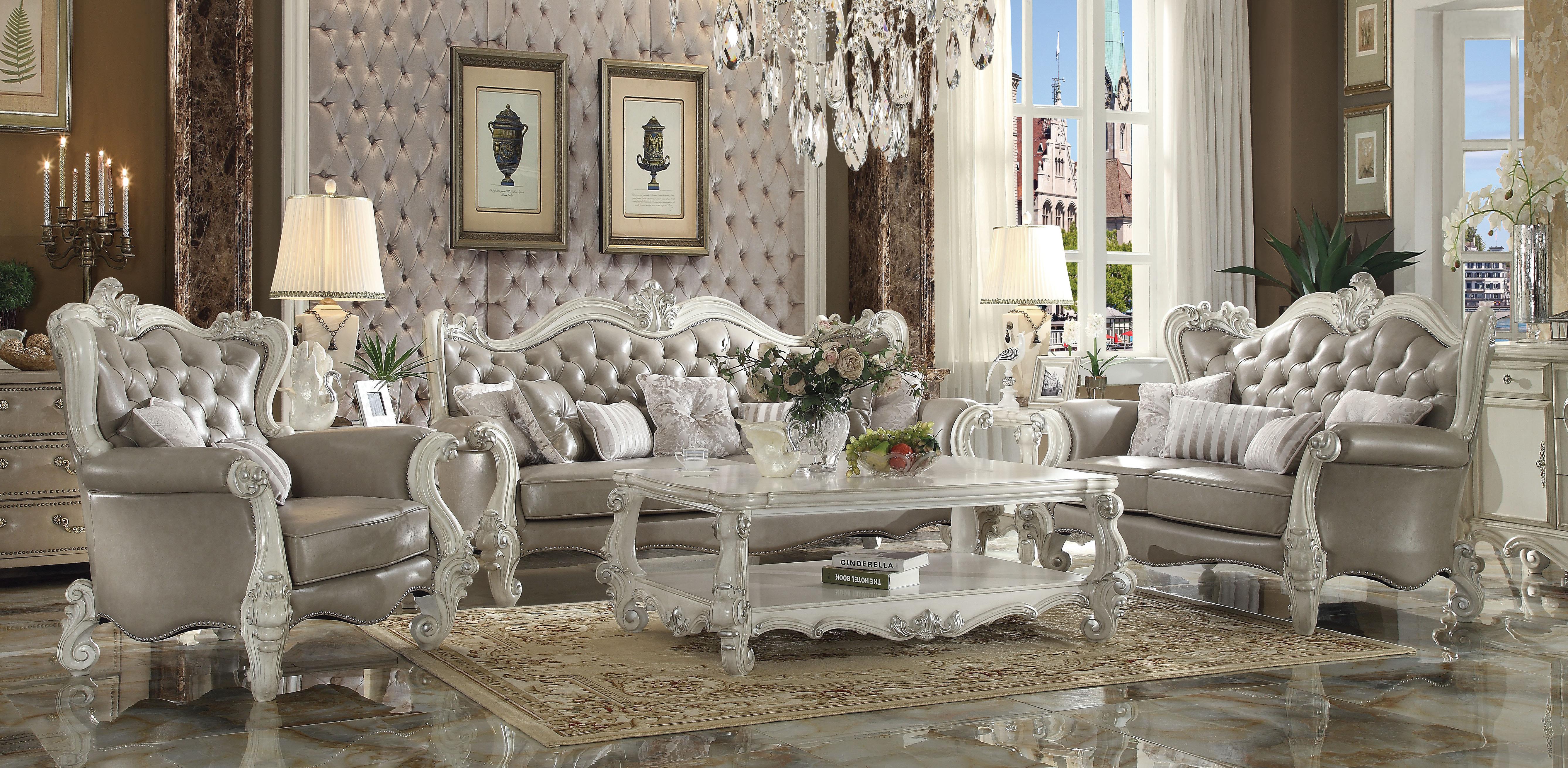 ACME Furniture Versailles Configurable Living Room Set U0026 Reviews | Wayfair