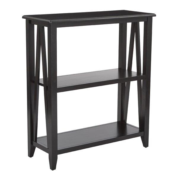 Whitbeck 2 Shelf Bookcase by Winston Porter