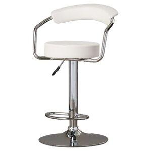 adjustable height swivel metal bar stool set of 2