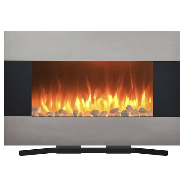 Rathburn Wall Mounted Electric Fireplace By Orren Ellis