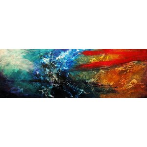 'Synphonic' by Heather Offord Graphic Art on Wrapped Canvas by East Urban Home