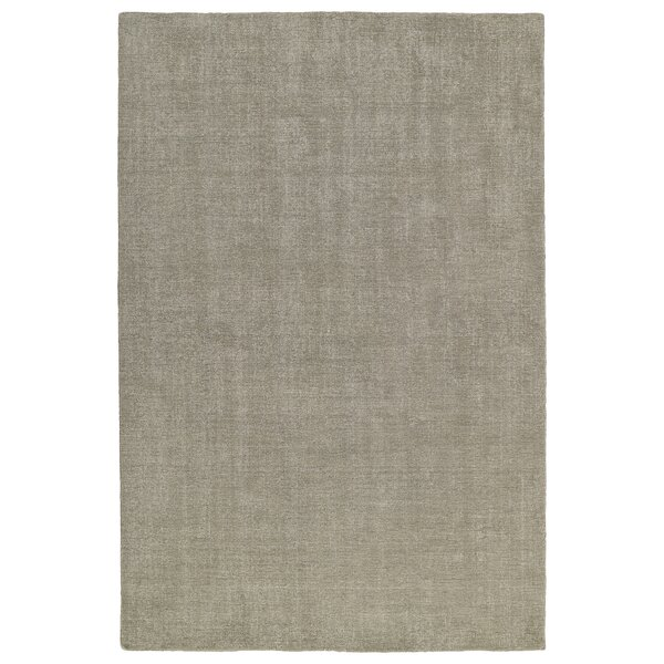 Borica Hand-Loomed Graphite Indoor/Outdoor Area Rug by Ebern Designs