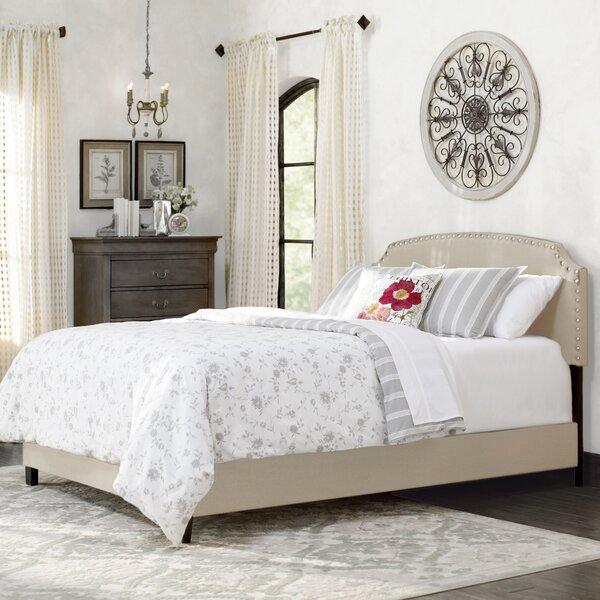 Dupre Upholstered Standard Bed by Lark Manor