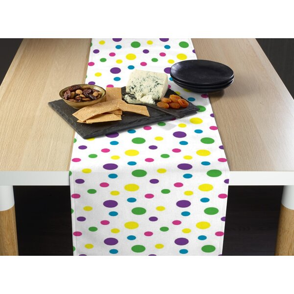 Mccomb Spring Dots Milliken Signature Table Runner by Latitude Run
