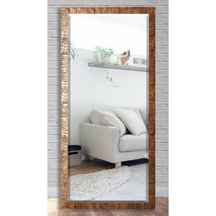 Wade Logan Grain Texture Beveled Wall Mirror