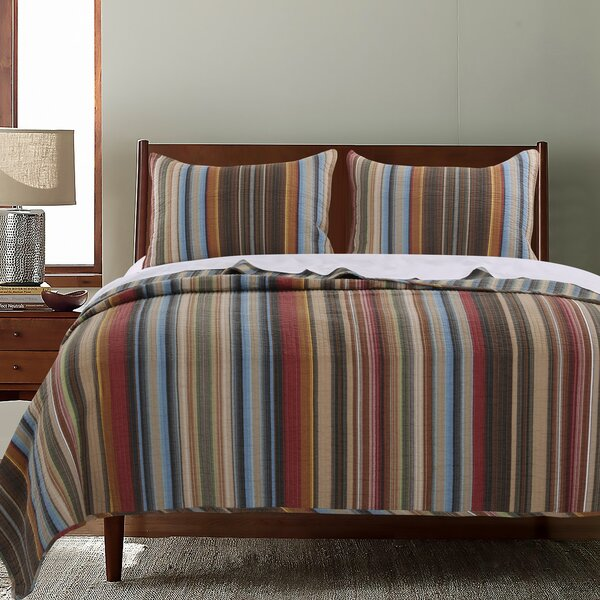 Durango Reversible Quilt Set by Greenland Home Fashions