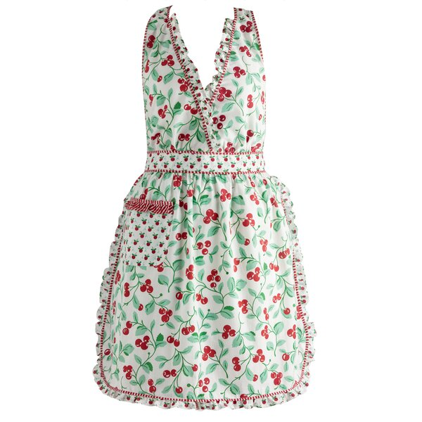 Brock Cherry Vintage Apron by Design Imports