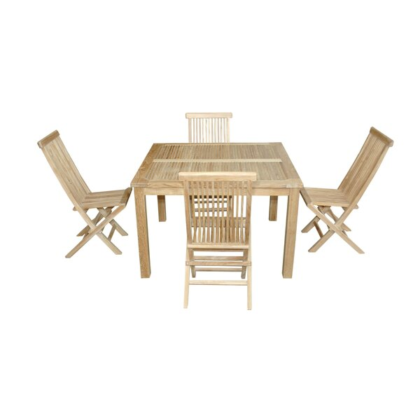 Classic 5 Piece Teak Dining Set by Anderson Teak